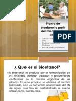 Planta de Bioetanol a Partir Del Mucilago De