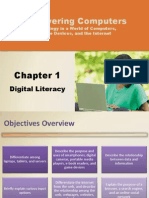 Discovery Computer Chapter 1 Digital Literacy