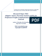 Adaptive Source Provision System (ASPS) for  Proficient Freight Complementary in WiMAX  Network