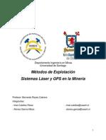 Sistema Laser y GPS en La Minería