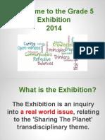 exhibition parent presentation