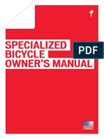 Specialized Bicycle Owner´s Manual 1