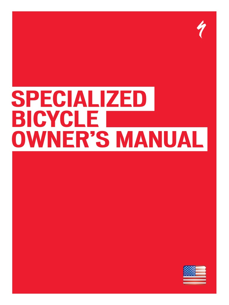 specialized bicycle owner s manual 1 traffic tire rh scribd com specialized road bike owners manual specialized road bike owners manual