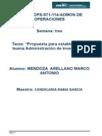 mendoza_arellano_S3_T3Propuesta para establecer una buena Administración de Inventarios.docx