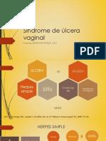 Síndrome de Ulcera Vaginal