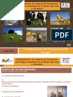 Herramienta de PRL - Sector Agricola y Ganadero
