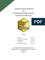 ProposaL KP Pertamina UBEP KP Tanjung