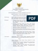 Perka Kode Wilkerstat 2014 Semester 1