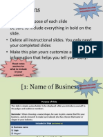 fy14 business plan presentation template