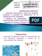 presentacion proyecto 3 Analizar documentos derechos humanos