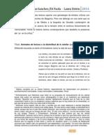 Jornadas Sanchez,Di Paola, Laura Estrin, 2014