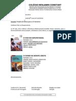 Livros Paradidáticos 2º Sem. 2014_8º Ano