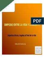 Aspectos Eticos y Legales Al Final de La Vida-MEX1