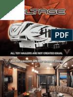 VoltageToyhaulers 2012 Brochure