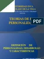 Teoria de La Pers. 2da Clase 2013 - II
