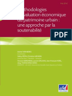 Méthodologies d'´valuation économique du patrimoine urbain