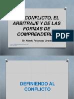 Teoría Del Conflicto y Arbitraje