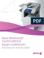 Xerox WorkCentre 7425-7435