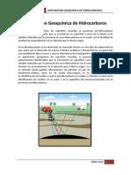 Exploración Geoquímica de Hidrocarburos