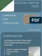 Placas de Carton Yeso