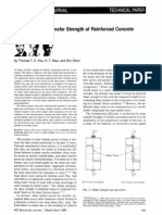 Theory of Shear Transfer Strength of Reinforced Concrete