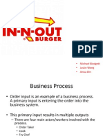 bcom in n out business process model mis project final