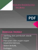 2. Radiologi Thorax