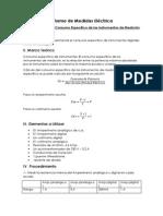 2do Informe de Medidas Eléctrica