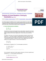 Systems of Linear Equations_ Solving by Substitution