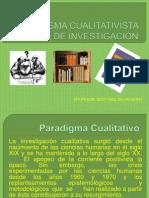 Paradigma Cualitativista de Investigación