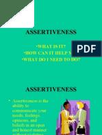 Assertiveness Ok