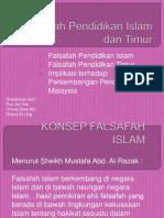3. Falsafah Pendidikan Islam & Timur