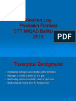 8- Log Neutron ppt | Neutron | Porosity