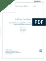 1813-9450-6725_Evidence Gap Maps