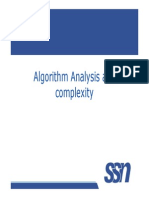 Algo Analysis and Time Complexity