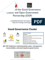 Overview of Gov Cluster and OGP