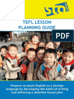 Sta Lesson Plan Booklet
