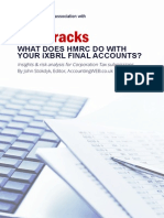 WHAT DOES HMRC DO WITH YOUR iXBRL FINAL ACCOUNTS?