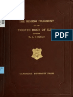 4 Ezra Missing Bensley Fragment