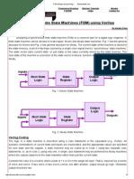 FSM Design Using Verilog __ Electrosofts