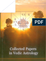 Collected Papers in Vedic Astrology Vpart 1