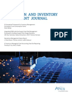2014 Apics Production and Inventory Management Journal