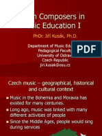 Czech Composers in Music Education I