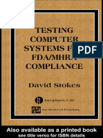 Testing Computers Systems for FDA Mhra Compliance Computer Systems Val.ebooKOID