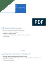 Troubleshooting OSD Configuration Manager