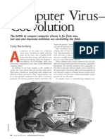 Computer Virus Coevolution