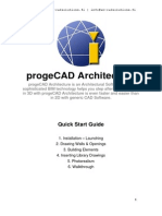 Progecad Architecture Quickstart Ancad