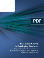 Post-Crisis Growth in the Developing World