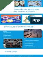 Impactof International Capital Flows onIndia'sEconomic Growth