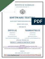 Software Testing_notes ( Divya - Rnsit)